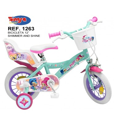 """BICICLETA 12"""" SHIMMER AND..."""