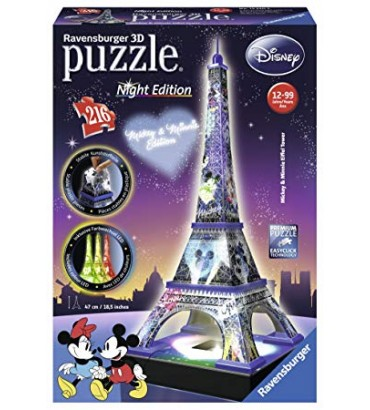 DISNEY TORRE EIFFEL NIGHT...