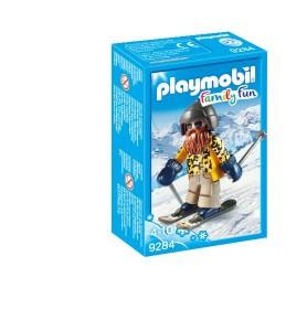 Esquiador con Snowblades