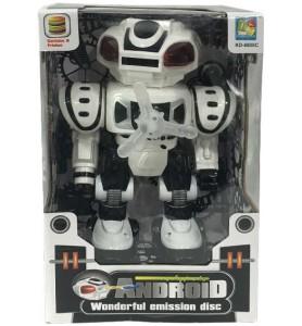 ROBOT ANDROID LANZADISCOS