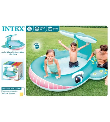 PISCINA BALLENA SPRAY +2A -...