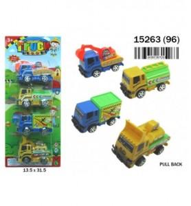 COCHES 29X15 LUZ/SONIDO 3 ST