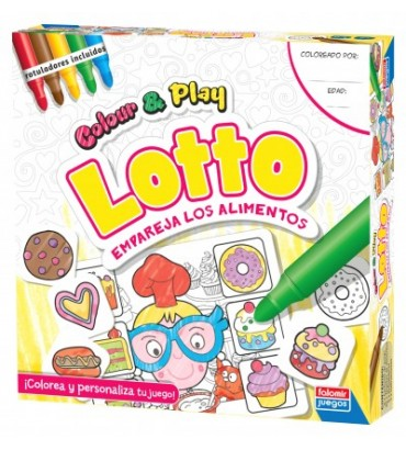 COLOR & PLAY LOTTO