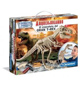 Arqueojugando TRex gigante