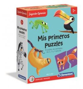 Puzzles forma animales +2 años