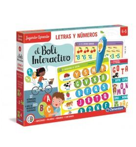 Boli Interac Letras Numeros +3