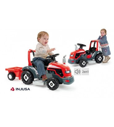 INJUSA TRACTOR LITTLE 6V 2...