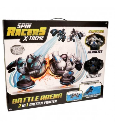 SET ARENA CON 2 SPIN RACERS...