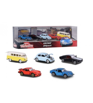 MAJORETTE-GIFTPACK 5 COCHES...