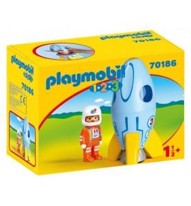 1.2.3 Astronauta con Cohete
