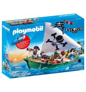 Barco Pirata con motor...