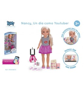 Nancy, un día como Youtuber