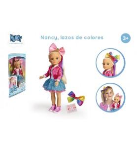 Nancy, lazos de colores