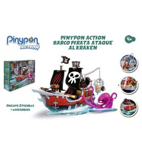 Pinypon Action. Barco Pirata