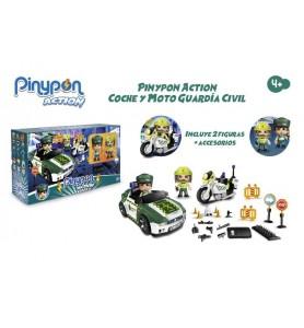Pinypon Action. Coche y...
