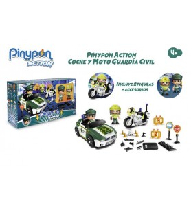 Pinypon Action. Set Guardia...