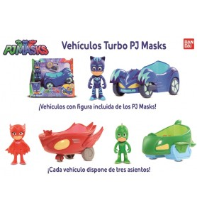 VEHICULOS TURBO PJ MASKS