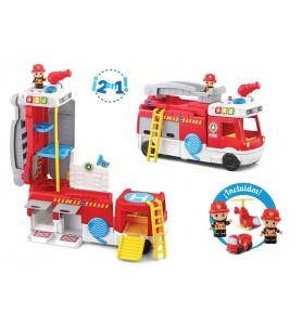 Camión de bomberos 2 en 1