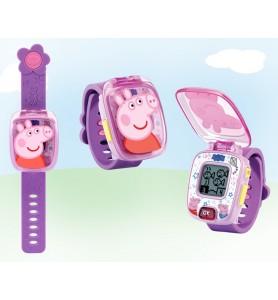 Reloj Peppa Pig Morado