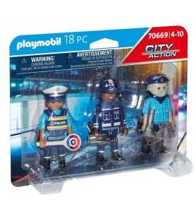Set Figuras Policía