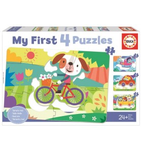 """VEHÍCULOS """"MY FIRST PUZZLES"""""""
