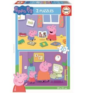 2X20 PEPPA PIG