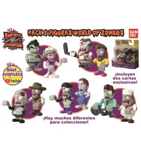 PACK 2 FIGURAS WORLD OF...