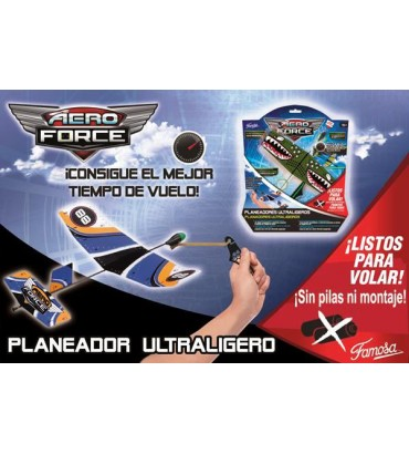 AERO FORCE,AVION PLANEADOR