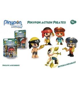 Pinypon Action. Figura Pirata.