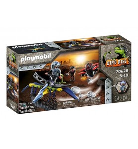 Pteranodon: Ataque desde el...