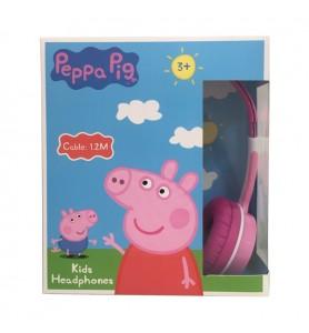 AURICULARES ROSA DE PEPPA PIG