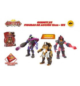 Gormiti S3 - Pack figura de...