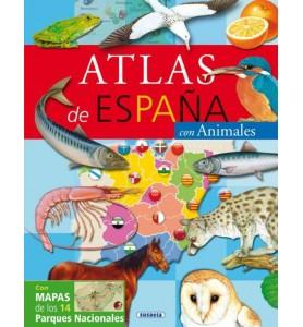 ATLAS DE ESPAQA CON ANIMALES