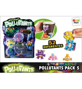 *POLLUTANTS PACK 5