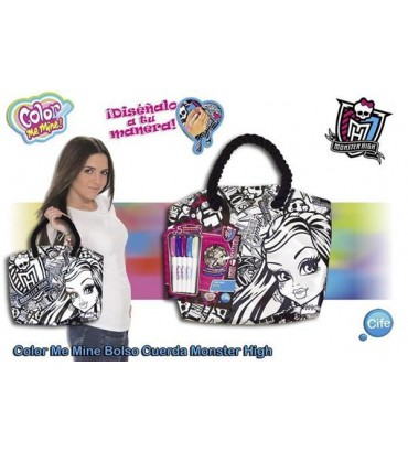 *BOLSO CUERDA MONSTER HIGH
