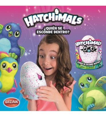 HATCHIMALS DRAGON-MORADO