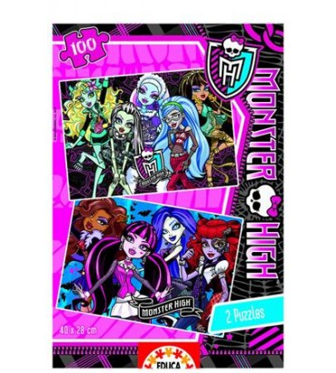 *2X100 MONSTER HIGH