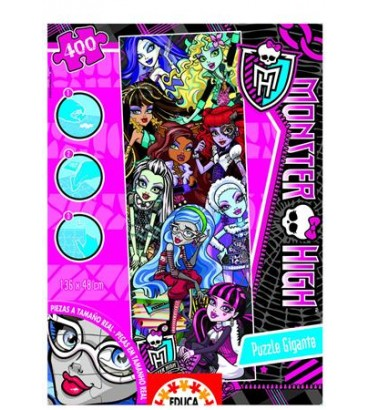 *400 GIGANTE MONSTER HIGH