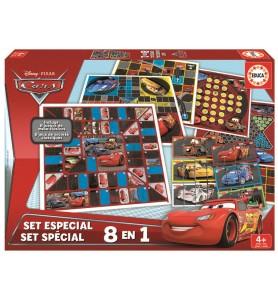 SET 8 EN 1 JUEGOS CARS