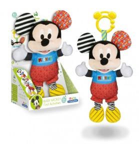 Baby Mickey peluche texturas