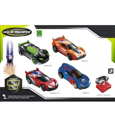 BLISTER COCHE WAVE RACERS...