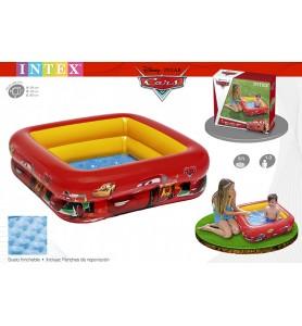 PISCINA PLAY BOX CARS 85X85X23