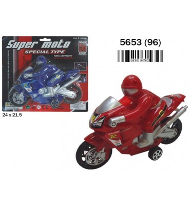 BLISTER MOTO CARRERAS 3