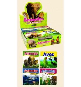 *ANIMALES DEL MUNDO 4 TITULOS