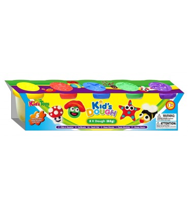 SET 5 BOTES PLASTILINA KIDS