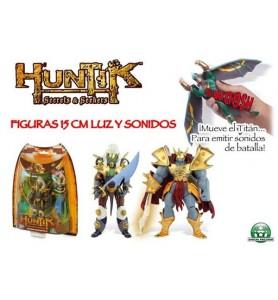 HUNTIK FIGURAS 15CM LUZ Y...
