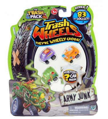 *TRASH WHEELS-BLISTER 4...