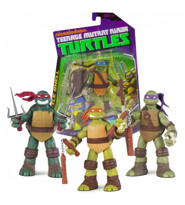 TMNT-FIGURAS BATTLE SHELL