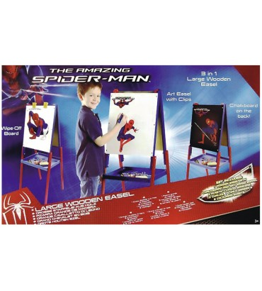 PIZARRA MADERA SPIDERMAN