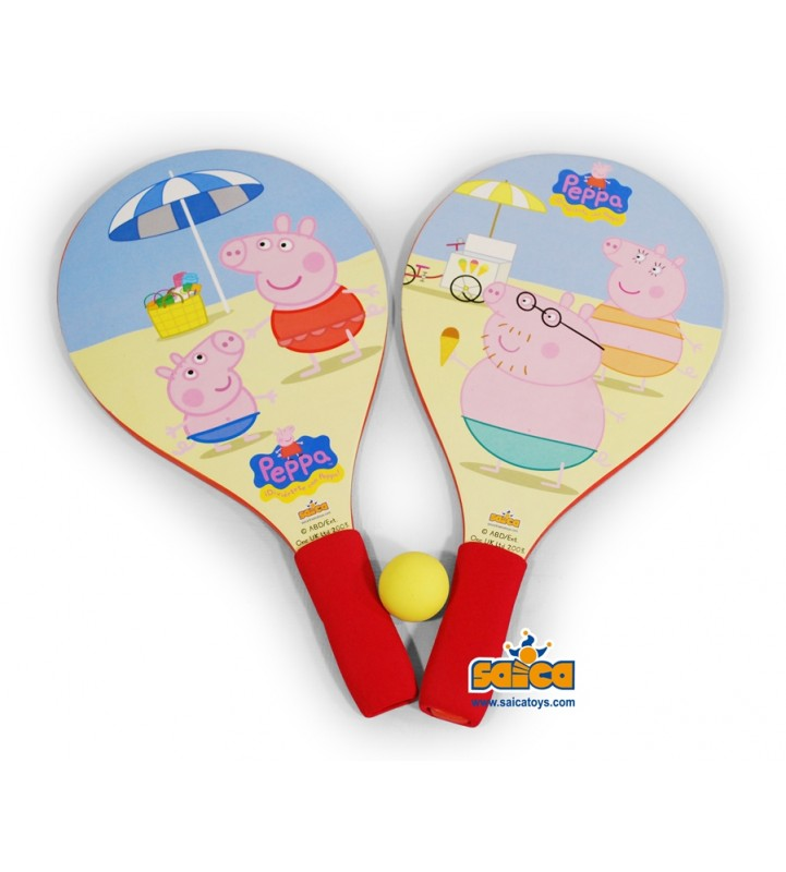 Palas de playa peppa pig for Peppa pig en piscina
